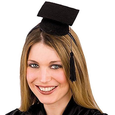 fascino dei costi sentirsi a proprio agio estremamente unico Carnival Toys 5938 - Mini Cappello Laureato Con Cerchietto
