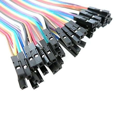 AptoFun Lot de 3 c/âbles m/âles Femelles m/âles pour Arduino et Raspberry pi m/âle