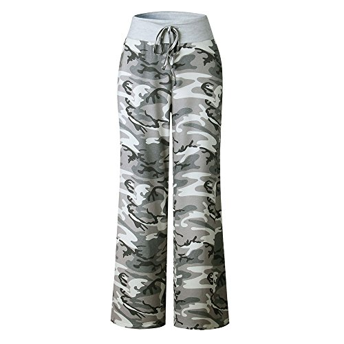 Handmade Ladies Tie Dye - 2018 Pajama Pants,Women Ladies Floral Prints Drawstring Wide Leg Trousers Leggings by-NEWONSUN Camouflage