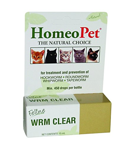 Homeopet Feline Wrm Clear Drops