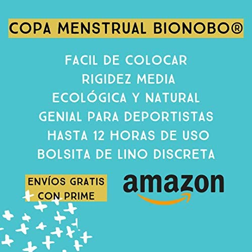 MENSTRUAL CUP BIONOBO® | Talla L |Capacidad Hasta 12 Horas ...