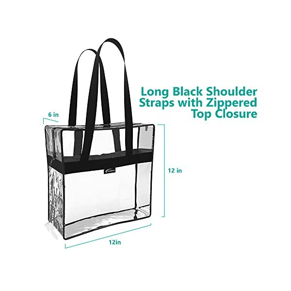 e41d07d25867 Clear Tote Bag Stadium Approved