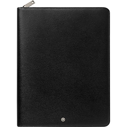 Montblanc 114705 4810 Westside Notepad Large with Zip by MONTBLANC