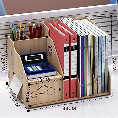 Schreibtisch Einfache Bücherregal Datei Regal Aufbewahrungsbox Schublade Stifthalter Bürobedarf Informationsregal