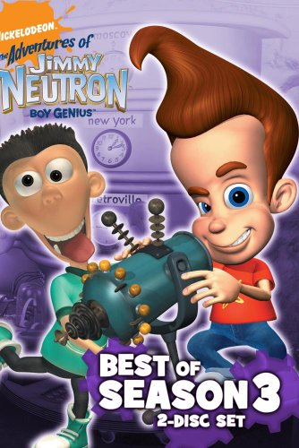 Jimmy Neutron- The Best of Season 3 (2 Disc Set) (The Adventures Of Jimmy Neutron Boy Genius Characters)