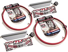 "Nuetech TUbliss 21"" & 18"" Tubeless Tire System Gen 2Includes:Qty.1 18"" Tubliss System (Fits 18"" x 1.85 to 2.15 Rim)Qty.1 21"" Tubliss System (Fits 21"" x 1.6"" Rim) Turns your tire into a tubeless tireBetter traction, quicker acceleration, p..."
