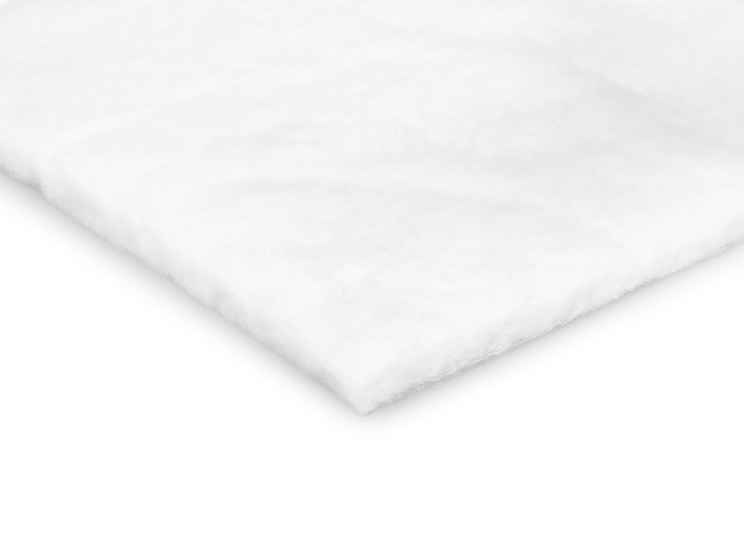 Durable Polyester Quilt Batting – Fluffy and Warm – Thick and Lightweight - 60 inches Wide - Machine Washable - For Indoor and Outdoor Use - Large Variety of Yard Cut Sizes (1 yard) Bonnybundle BBQB