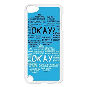 D-PAFD Customized Print Okay Pattern Hard Case for iPod Touch 5
