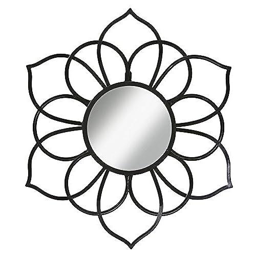 Black Metal Flower Wall Decor: Amazon.com