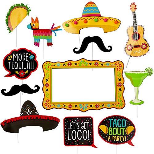 Cinco De Mayo Props - Amscan 399871 Fiesta Deluxe Jumbo Photo