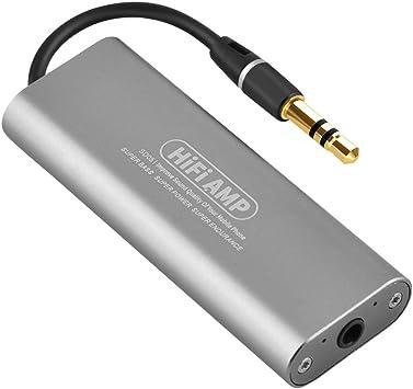 Zerone Mini HiFi Amplificador, SD05 Hi-Fi estéreo Auricular ...