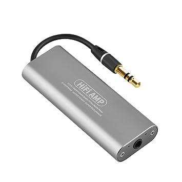 Mini Amplificador de Alta fidelidad, SD05 Amplificador de Auriculares estéreo de Alta fidelidad AMP Reproductor