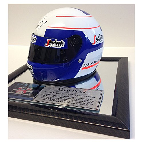 MirrorOutlet Firmado Alain Prost 1/2 Escala F1 Casco - Fórmula 1 Champion - McLaren 1985: Amazon.es: Hogar