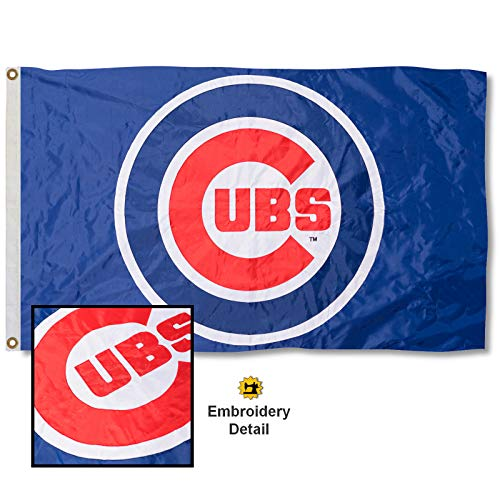 WinCraft Chicago Cubs Embroidered Nylon Flag