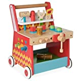 Early Learning Centre Figurines (Wooden Act Workbench)