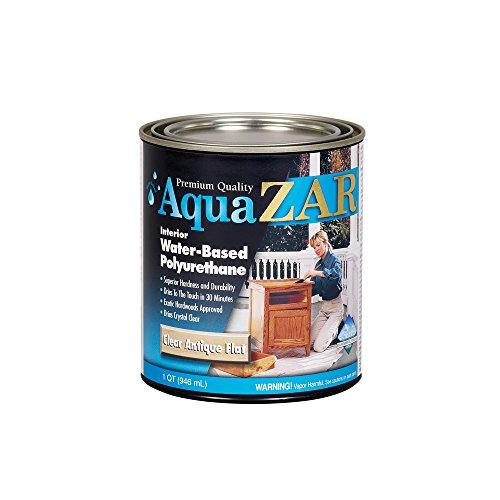 (ZAR 34412 Antique Flat Aqua Water Based Polyurethane)