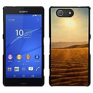 LECELL--Funda protectora / Cubierta / Piel For Sony Xperia Z3 Compact -- Vistas del desierto --