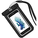 Waterproof Case YOSH® Universal Dry Bag for Apple iPhone 6s, 6 Plus, Samsung Galaxy S6 Edge. Best Water Proof,...