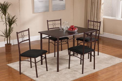 Kings Brand Furniture 5 Piece Dining Dinette Sets