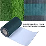 15cmx 5m Artificial Grass Tape For Grass Green Joining Fixing Turf Tape Self Adhesive Lawn Carpet Seaming