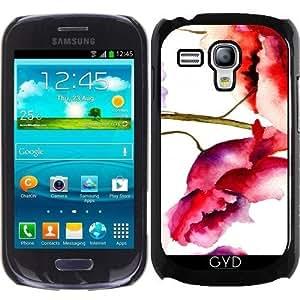 Funda para Samsung Galaxy S3 Mini (GT-I8190) - Estampado De Flores 02 by Aloke Design