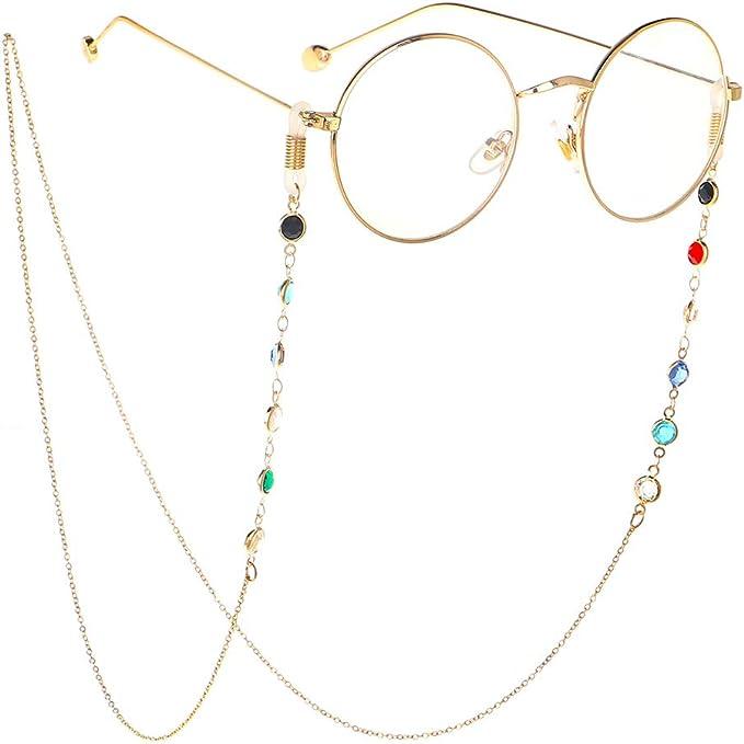 Brillenketten f/ür Lesebrillen Brillenband Frauen Lesebrille Kette mit Hohlperlen Brille Kette Sonnebrillen Band Lesebrillen Kette Lesebrillen Band Brille Cords