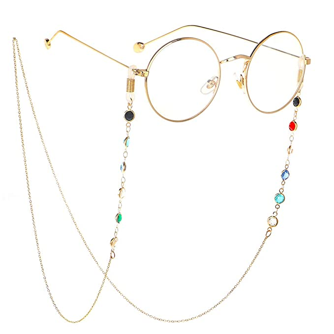 ad87a6f03ab84c Brillenketten für Lesebrillen Brillenband Frauen Lesebrille Kette mit  Hohlperlen Brille Kette Sonnebrillen Band Lesebrillen Kette Lesebrillen  Band Brille ...