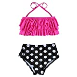 Peak 2 PCS Girls Kids Bikini Sets Swimsuit Beachwear, Cute Bathing Suit