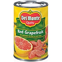 Del Monte Red Grapefruit Sections in Light Syrup - 12 Pack