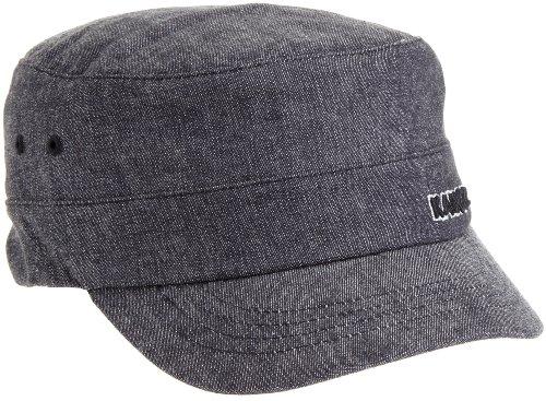 Kangol Men's Denim Army Cap, Black, Small/Medium (Cap Kangol Army)