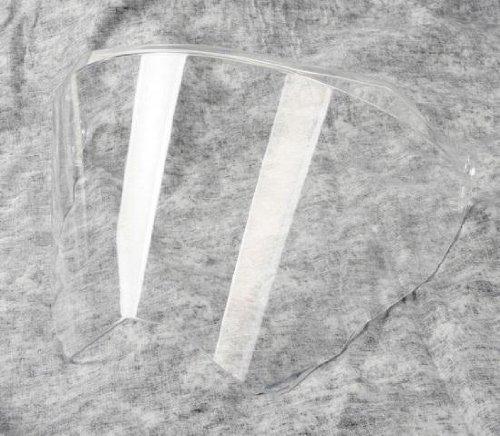 AGV Anti-Scratch Anti-Fog Helmet Shield for AX-8 Dual Sport - Smoke KV17L0N2001 Agv Anti Scratch Shield