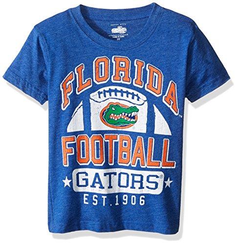 NCAA Florida Gators Children Boys Short Sleeve Blend Tee,5,Blue Moon Blend (Florida Gator Youth Jersey)