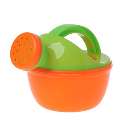 HOWWOH Watering Pot, Watering Pot Bath Toy Baby Toy Beach Play Water Sand Tool Toys - Color Randomly: Home & Kitchen