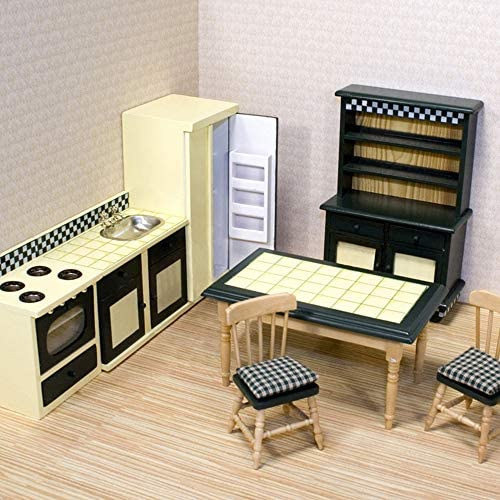 toys, games, dolls, accessories, dollhouse accessories,  furniture 6 image Melissa & Doug Doll-House Furniture- Kitchen Set promotion