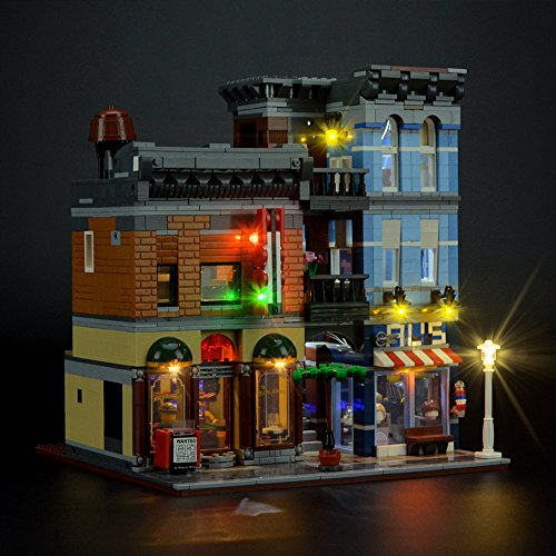 Buy lego detective office lights
