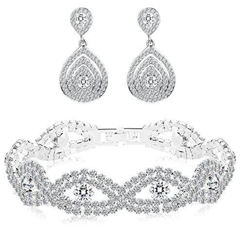 crystal bridal earings - 3