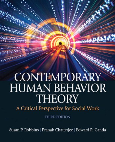 Contemporary Human Behavior Theory: A Critical Perspective for Social Work (3rd Edition) Pdf