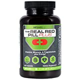 The Real Red Pill Plus (120 Capsules) - Pregnenolone 50mg Supports Healthy Aging & Cognitive Function