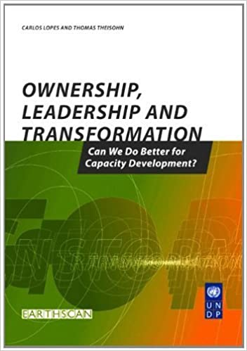 Book Capacity For Development, 3 vols: Ownership Leadership and Transformation: Can We Do Better for Capacity Development (Volume 3) by Thomas Theisohn (2003-10-03)