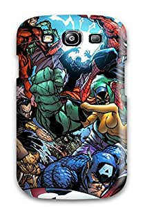 2170126K23236492 Hot Case Cover Protector For Galaxy S3- Marvel