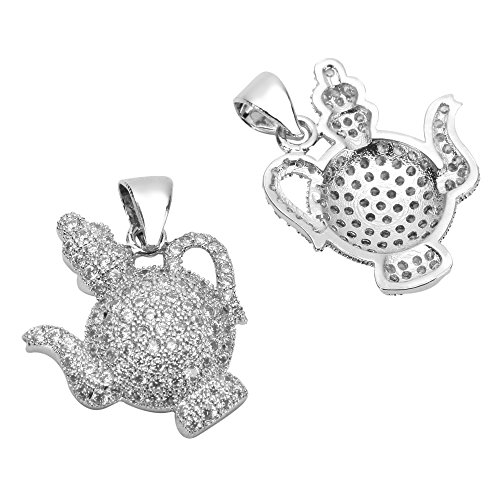 1pc-Top-Quality-Silver-Magic-Teapot-CharmPendant-with-Cubic-Zirconia-MCAC38