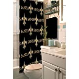 NFL New Orleans Saints Decorative Shower Curtain