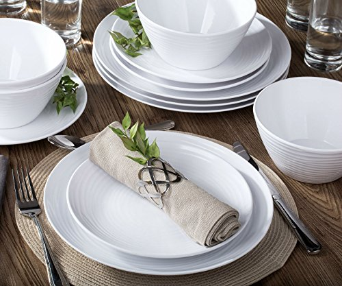Parhoma Melamine Dinnerware Set, 12-Piece for 4