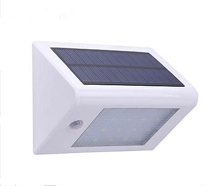 meihui exterior waterfroff 440LM 20 LED Energía Solar Sensor de movimiento Jardín Patio Valla pared Super