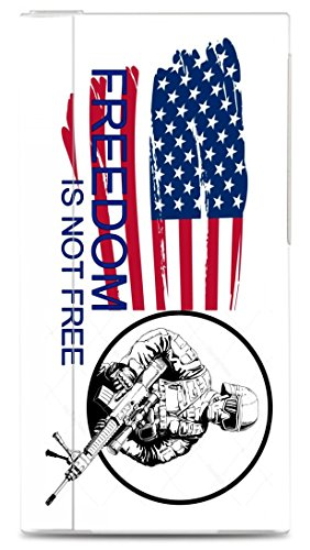 American Flag Freedom Is Not Free Soldier Image iPod Nano  V