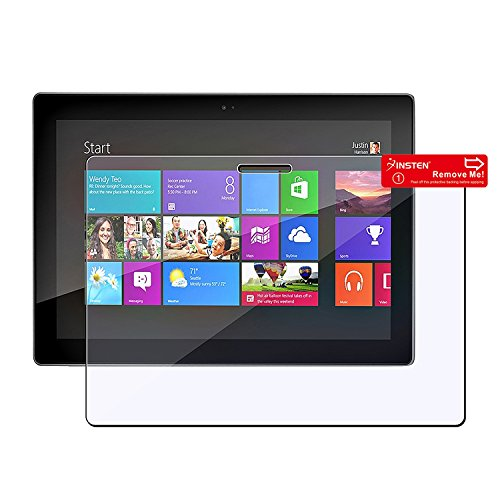 Insten Reusable Clear Screen Protector Film Guard for Microsoft Surface 8 Pro/Surface RT (PMICSURFSP01)