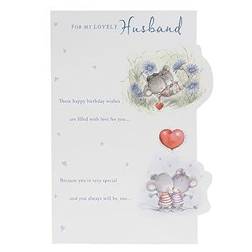 Hallmark birthday card for husband all my love medium amazon hallmark birthday card for husband all my love medium bookmarktalkfo Image collections
