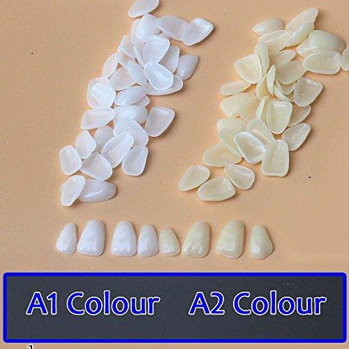 GogoForward A1 A2 (Random) Dental Ultra-Thin Whitening Veneers Resin Teeth Upper Anterior 100 Pcs Aus