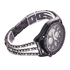 Product Description:                Material: Stainless Steel        Compatibility: compatible with Samsung Galaxy Watch (46mm) SM-R800,Samsung Gear S3 Classic Smartwatch SM-R770 / Samsung Gear S3 Frontier        Smartwatch SM-R760,als...