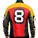 Febzo Fashion Puddy's Patrick 8 Ball Leather Jacket - (2XLarge)